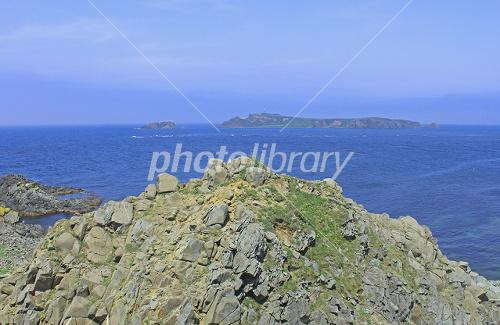 須古頓岬と海驢島 写真素材 [ 20...