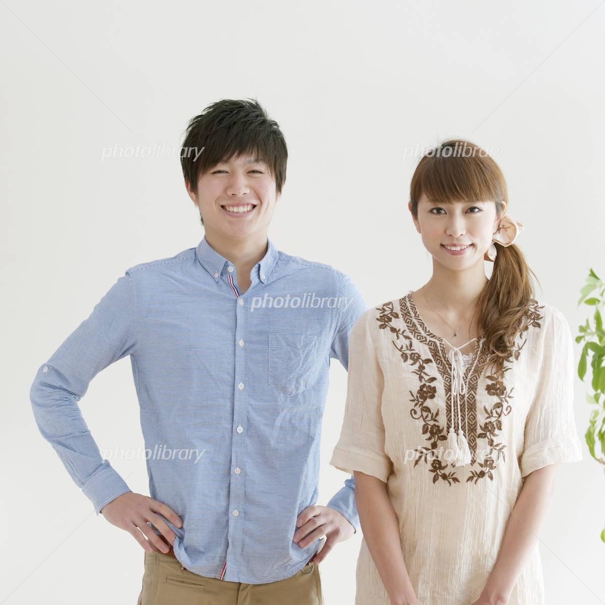 couple portrait smiling Photo