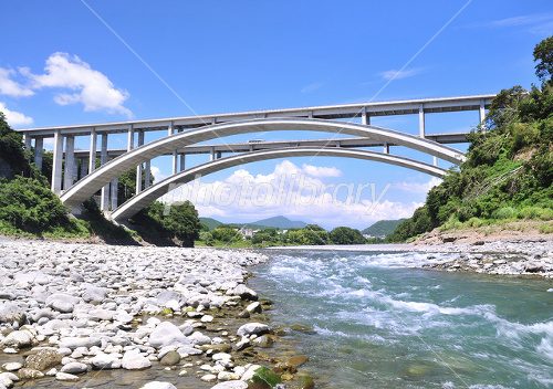 Shintona arch bridge Photo
