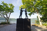 Image of Towada lakeside maiden Stock photo [2067204] Bronze