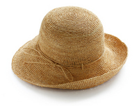 Raffia hat Stock photo [2067279] Raffia