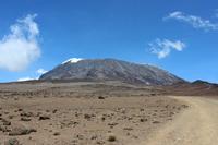 To Kilimanjaro summit Stock photo [2069365] Kilimanjaro