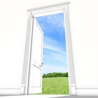 Beginning of the door [2069026] Open