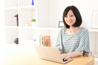 Woman laptop Stock photo [2069454] Email