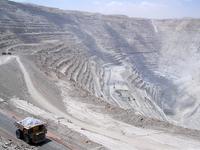 Chile Chuquicamata copper mine Stock photo [2069943] Chuquicamata