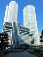 Nagoya Station Central Towers Stock photo [2070228] Nagoya