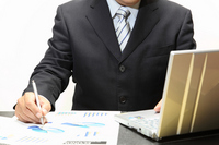 Desk work Stock photo [2070524] Businessman
