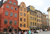 Sweden, Stockholm's Old Town Stock photo [2074928] Nordic