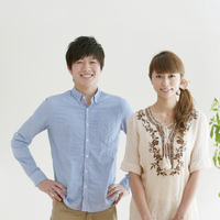 couple portrait smiling Stock photo [2077051] Person