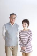 Portrait of smiling senior couple Stock photo [2077286] Person