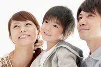 Smiling children and parents Stock photo [2077327] Person