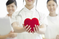Nurse with a Heart Stock photo [2077355] Person