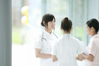 Nurse to the meeting Stock photo [2077393] Person