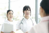 Nurse to the meeting Stock photo [2077598] Person