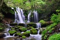 Waterfall of Sarutsubo Stock photo [2077722] Waterfall