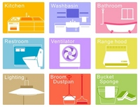 House cleaning icon [2079867] House