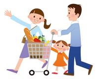 Shopping in family [2081342] Shopping
