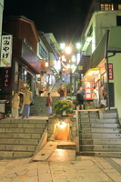 Ikaho spa stone steps the city this full mouth Stock photo [2167699] Komaguchi