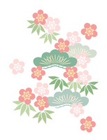 Sho Chiku Bai illustrations [2170824] Pine,