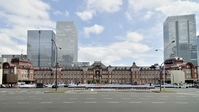 Panorama Tokyo Station panoramic view Stock photo [2174554] Front