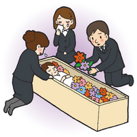Funeral illustrations [2174705] Funeral