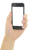 Hand with a smartphone Stock photo [2176452] Smartphone