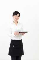 Woman cafe clerk Stock photo [2176866] Diet
