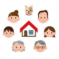 Family house look [2177199] Family