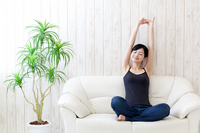 Woman relax Stock photo [2178837] One