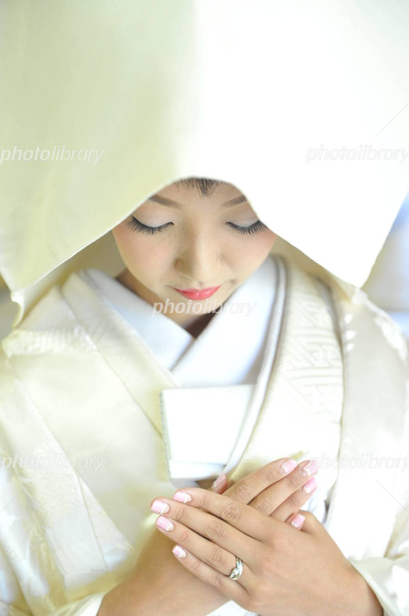 Kimono bride of Photo