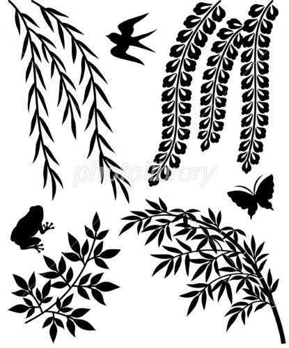 柳 笹 イラスト素材 2301273 フォトライブラリー Photolibrary