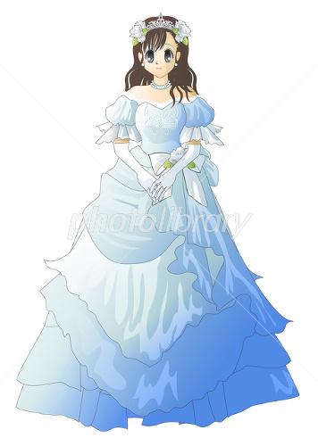 イブニングドレス イラスト素材 2303126 フォトライブラリー