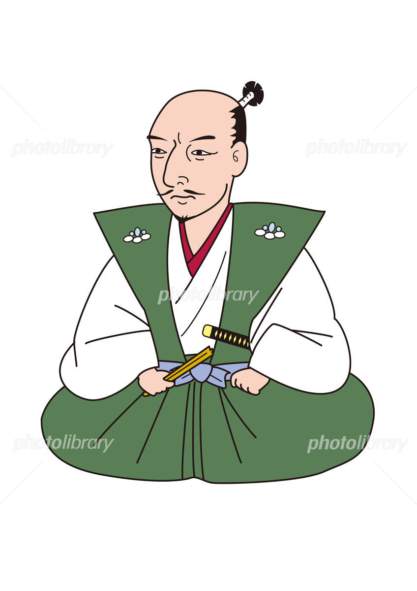 Oda Nobunaga イラスト素材