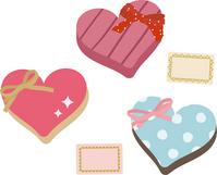 Heart-shaped gift [2299455] Hart