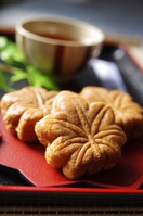 Miyajima confection maple buns Stock photo [2304814] Momiji