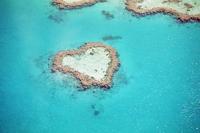 Great Barrier Reef Heart Reef Stock photo [2305675] Heart