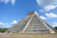 Pyramid of world heritage Chichen Itza, El Castillo Stock photo [2306256] World