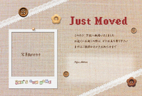 Moving postcard that I moved [2307008] I