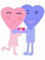 Love of gift scene [2307400] Valentine