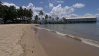 ポートダグラスのアンザックパークの浜辺