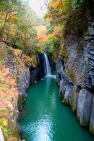 Autumn of Takachiho Gorge Stock photo [64885] Miyazaki