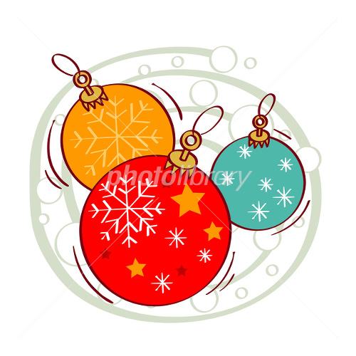 クリスマスオーナメント イラスト イラスト素材 2432826 フォト