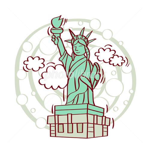 イラスト 自由の女神 イラスト素材 2433541 フォトライブラリー