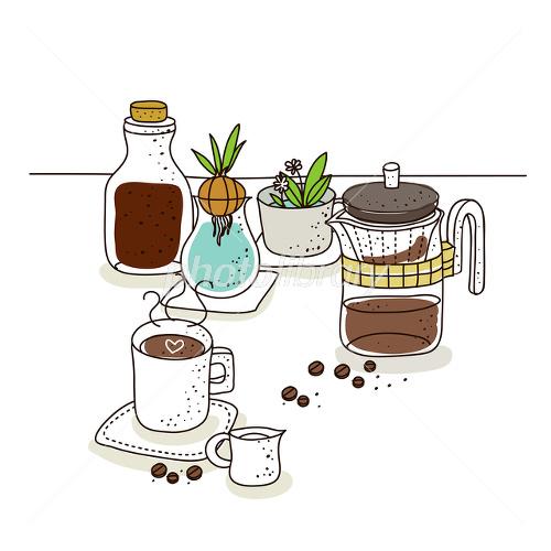 カフェ イラスト イラスト素材 2433883 フォトライブラリー