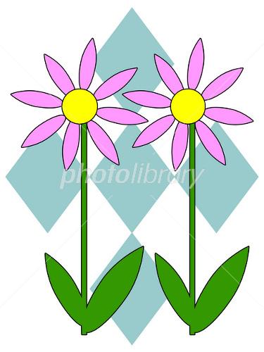 可愛い花のイラスト イラスト素材 2439080 フォトライブラリー