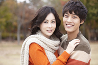 Autumn couple Stock photo [2427027] Outdoors