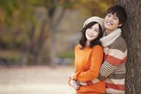 Autumn couple Stock photo [2427040] Outdoors