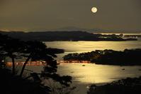 Moonlit night of Matsushima Stock photo [2428139] Matsushima