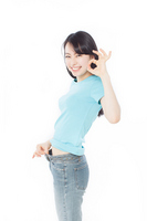 Diet success Stock photo [2430306] Female