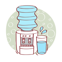Water server illustrations [2433061] Icon